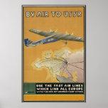 Aeroplano de URSS Impresiones