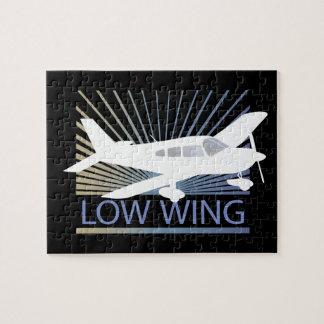 Aeroplano del ala baja puzzle