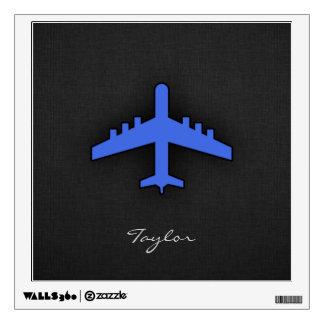 Aeroplano del azul real