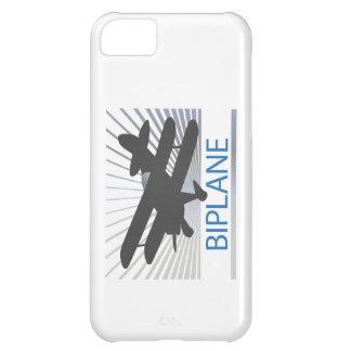 Aeroplano del biplano funda para iPhone 5C
