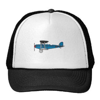Aeroplano del biplano gorra