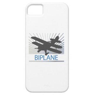 Aeroplano del biplano iPhone 5 carcasa
