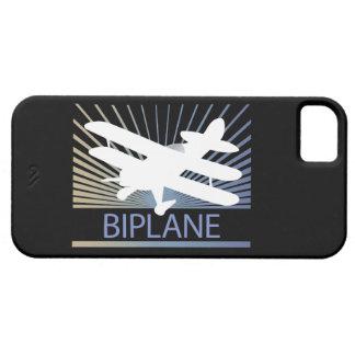 Aeroplano del biplano iPhone 5 funda