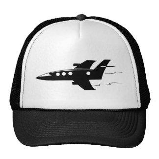 Aeroplano del jet gorras de camionero