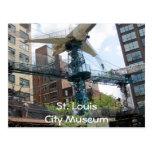 Aeroplano del museo de la ciudad, museo del St. Lo Tarjetas Postales