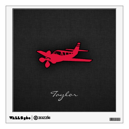 Aeroplano del rojo carmesí