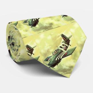 Aeroplano del vintage corbata personalizada