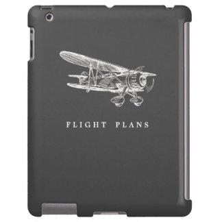 Aeroplano del vintage, planes de vuelo