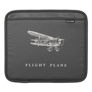 Aeroplano del vintage planes de vuelo manga de iPad