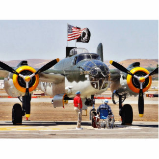 Aeroplano en Airshow Fotoescultura Vertical