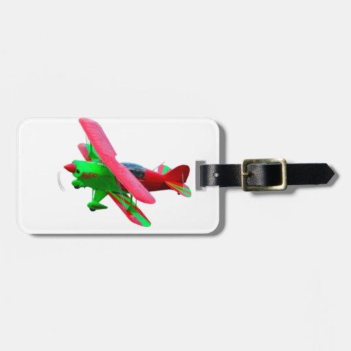 Aeroplano Etiquetas Maleta