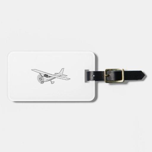 Aeroplano Etiquetas Para Equipaje