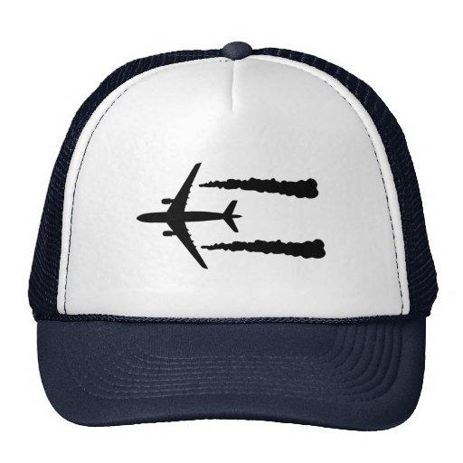 Aeroplano Gorros Bordados
