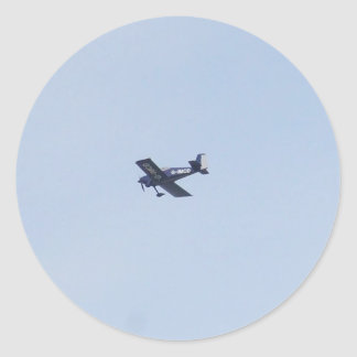 Aeroplano ligero de las furgonetas RV-7 Pegatinas Redondas