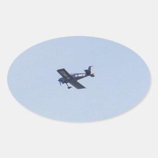 Aeroplano ligero de las furgonetas RV-7 Calcomania Óval Personalizadas