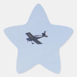 Aeroplano ligero de las furgonetas RV-7 Pegatina Forma De Estrella Personalizada