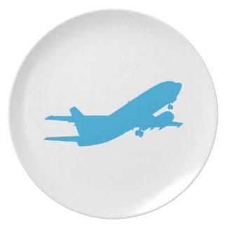 Aeroplano Platos De Comidas