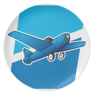 Aeroplano Platos Para Fiestas