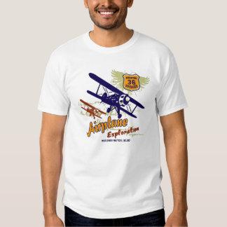 aeroplano privado remera