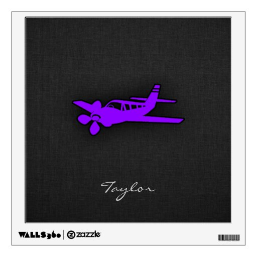 Aeroplano púrpura violeta