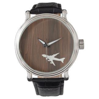 Aeroplano Relojes De Pulsera