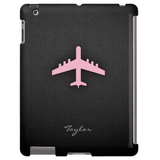 Aeroplano rosa claro