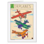 Aeroplano-Tarjeta