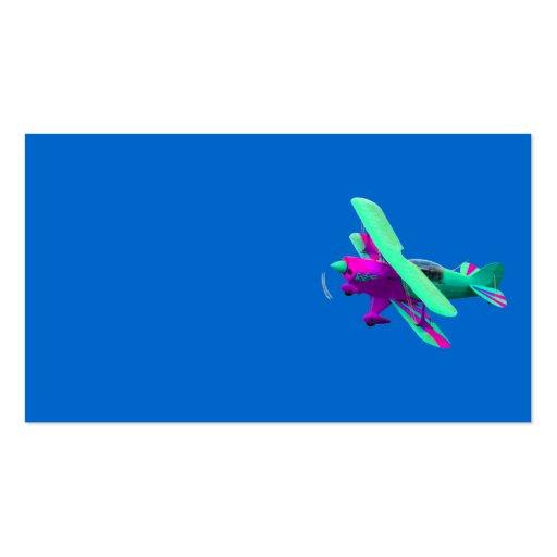 Aeroplano Tarjetas De Visita