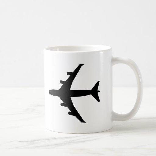 Aeroplano Taza Básica Blanca