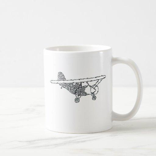AEROPLANO TAZA DE CAFÉ