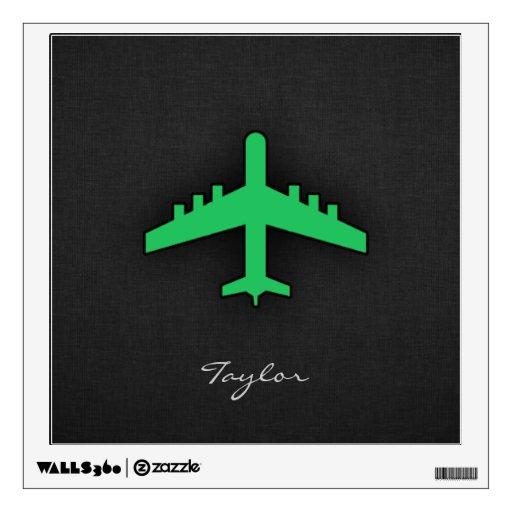 Aeroplano verde de Kelly