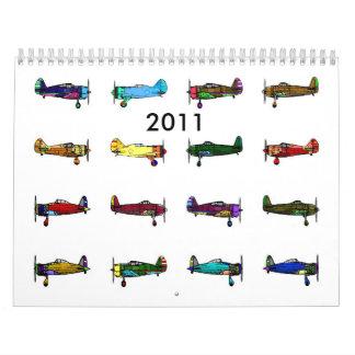 aeroplanos 2011 calendarios
