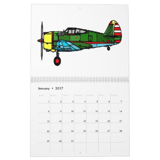 aeroplanos, 2012 calendarios