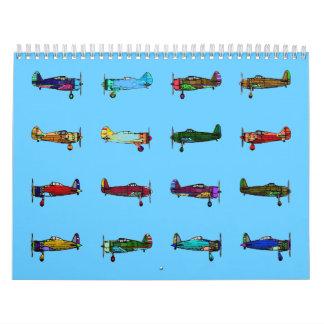 aeroplanos calendario