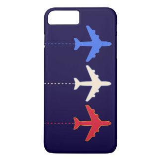 aeroplanos de las líneas aéreas funda iPhone 7 plus