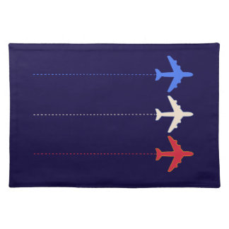 aeroplanos de las líneas aéreas mantel