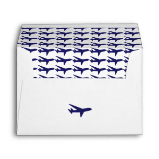 Aeroplanos del azul del buen viaje