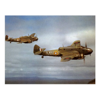 Aeroplanos históricos WW2 en vuelo Postal