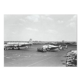 """Aeroplanos Invitación 5"""" X 7"""""""