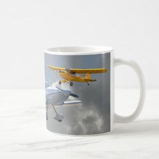 AEROPLANOS TAZAS DE CAFÉ