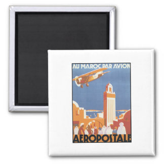 Aeropostale Au Maroc Par Avion Magnet