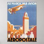 Aeropostale Au Maroc Par Avion Posters