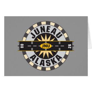 Aeropuerto de Juneau Alaska JNU Tarjeta De Felicitación
