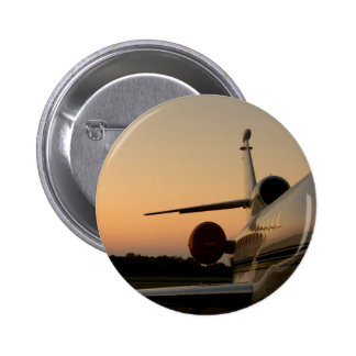 Aeropuerto de la mosca del ala del avión de pin redondo de 2 pulgadas