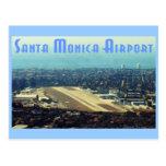 Aeropuerto de Santa Mónica Tarjeta Postal