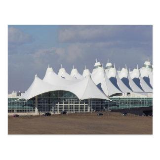 Aeropuerto internacional Buildin terminal principa Postal