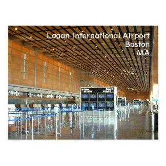 Aeropuerto internacional de Logan Tarjeta Postal