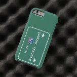 Aeropuerto JFK I-678 NYC New York City NY de Funda Resistente iPhone 6