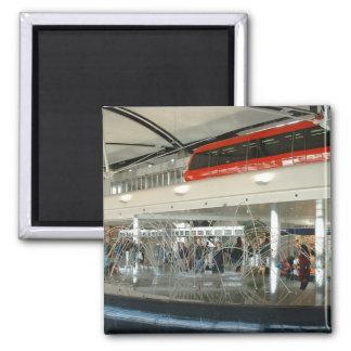 Aeropuerto metropolitano del país de Detroit Wayne Imán Cuadrado