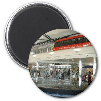 Aeropuerto metropolitano del país de Detroit Wayne Imán Redondo 5 Cm